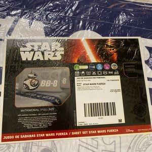 Star Wars sheet set full